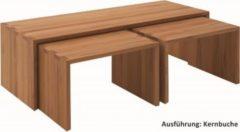 Oak & Beech GmbH Couchtisch Set Kernbuche Wildeiche massiv