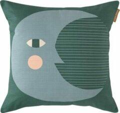 Groene Donna Wilson kussen Moon