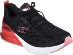 Rode Skechers Skech-Air Stratus Wind Breeze Dames Sneakers - Zwart - Maat 39