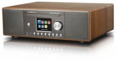 Albrecht DR 890 CD, DAB+/UKW, Internet-Radio/CD, Bluetooth, verschiedene Farben Farbe: Walnuss