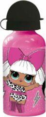 L.O.L. Surprise! L.o.l. Surprise Drinkfles Rock On 400 Ml Meisjes Aluminium Roze