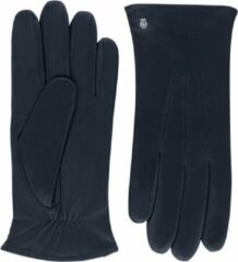 Marineblauwe Roeckl Riga Leren Heren Handschoenen Maat 9,5 - Classic Navy