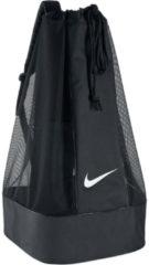 Zwarte Nike Club Team Ballenzak Zwart (16 ballen)