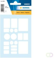 Herma Multi-purpose labels 7 formats assorted white 133 pcs.