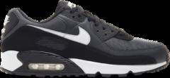 Grijze Nike Air Max 90 - Heren Schoenen - Grey - Leer, Textil, Synthetisch - Maat 42 - Foot Locker