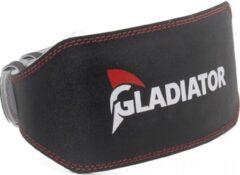 Zwarte Gladiator Sports Weightlifting Belt Fitness riem