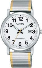 Lorus RG861CX9 horloge heren - zilver en goud - edelstaal
