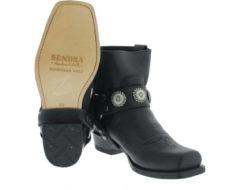 Zwarte Sendra 13857 Flota Negro Boots western-boots