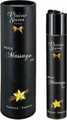 Plaisirs Secrets Massage Olie Vanille - 59 ml