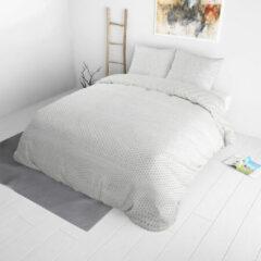 Witte Dekbed-Discounter Dekbed Discounter - Lits-jumeaux Dekbedovertrek Gustavo 240x220 cm - Polycotton - Dekbedovertrek met 2 kussenslopen