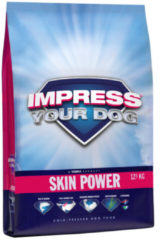 Impress Your Dog Skin Power 12,5 kg - Hond - Honden droogvoer