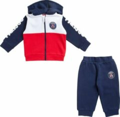 Rode PSG baby trainingspak met kap - 3 maand (62)