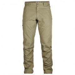 Fjällräven - Travellers Trousers - Trekkingbroek maat 56 - Long - Fixed Length grijs/beige/olijfgroen