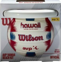 Wilson AVP Hawaii Kit - Rood / Wit - maat 5