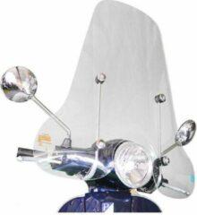 Transparante DMP Vespa LX Hoog Windscherm EU zonder bevestigingsset van scootercentrum