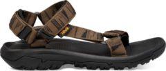Grijze Teva Hurricane XLT outdoor sandalen antraciet/groen