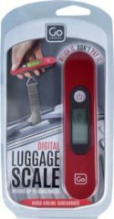 Design Go digitale Gepäckwaage 12,5 cm GoTravel rot