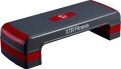 XTR Fitness Stepper | Aerobic | Verstelbaar | Antislip | Rood & Zwart
