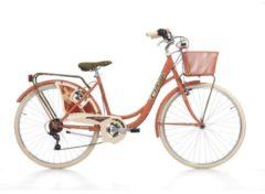 Cicli Cinzia 26 Zoll Damen City Fahrrad Cinzia Belle Epoque 6... rot