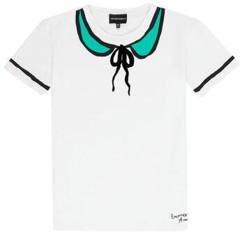 Afbeelding van Witte T-shirt Korte Mouw Emporio Armani Anthonin