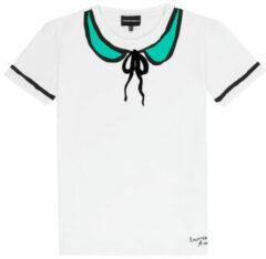 Witte T-shirt Korte Mouw Emporio Armani Anthonin
