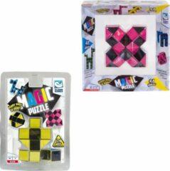 Clown Games Clown Magic Puzzle 48dlg Roze + Puzzle 3d 24 Dlg Geel