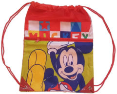 Disney Gymtas Mickey Mouse Junior 42 Cm Polyester Rood/geel