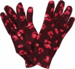 Bordeauxrode Regatta Handschoenen Fallon Polyester Bordeaux Maat 17 Cm