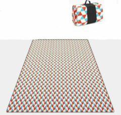 Sens Design XXL Waterdicht Picknickkleed – 200x200 cm – Buitenkleed Oranje