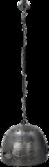 Zwarte HSM Collection Hanglamp Bolt - ø40 cm - grijs