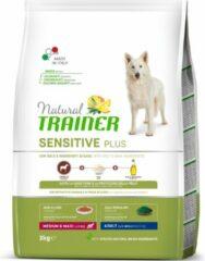 Natural trainer dog adult medium / maxi sensitive plus horse 3 KG