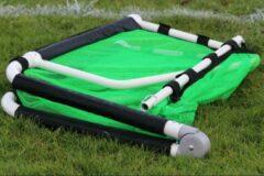 Groene Soccerconcepts Minigoal inklapbaar - voetbaldoel - 150cm x 100cm - Aluminium
