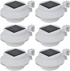 DCM Medisana vidaXL Solar buitenlampset 6 stuks wit
