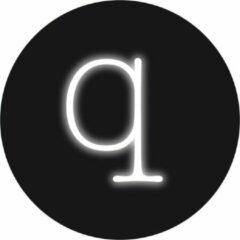 Witte Seletti Neon Art - Wandlamp - letter Q