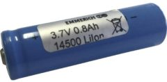 Emmerich 14500 Non-standard battery (rechargeable) 14500 Flat top Li-ion 3.7 V 800 mAh