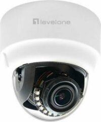 Witte Level One LevelOne FCS-3303 IP-beveiligingscamera Binnen & buiten Dome Plafond/muur 2048 x 1536 Pixels