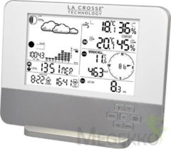 La Crosse Technology La Crosse Compleet weerstation met thermo-hygro-, wind- en regensensor.