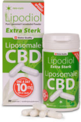 Neo Cure Neo-Cure Lipodiol CBD Poeder Extra sterk 10 mg 30 caps