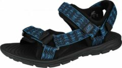 Hannah Sandalen Feet Unisex Eva/polyester Zwart/blauw Maat 39