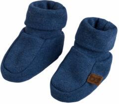 Blauwe Baby's Only Melange slofjes mt 2 jeans