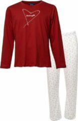 Eskimo dames pyjama | MAAT XXL | Goodnight | rood