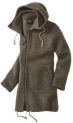 Mufflon - Patrick - Wollen parka maat XL, bruin/grijs