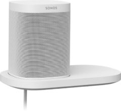 Witte Sonos Shelf wandplank voor Sonos One, One SL en Play:1 speaker