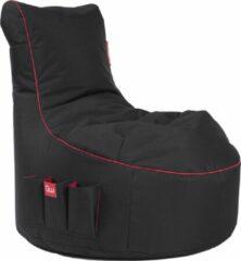 Maison Woonstore Maison's Game Zitzak - Zitzak - Bean Bag - Gaming zitzak- Game stoel - Zwart Rood - Polyster- 95x65x90
