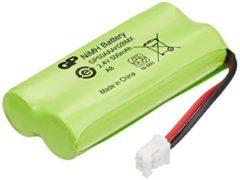 Groene GP Batteries NiMH rechargeable batteries T436 Nikkel Metaal Hydride 400mAh 2.4V oplaadbare batterij/accu