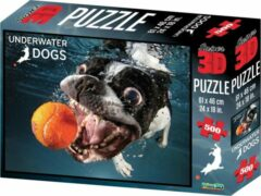 National Geographic 3D puzzel 500 stukjes Onderwater hond Rocco