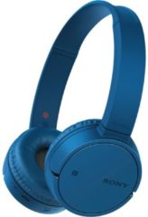 Sony WH-CH500 Bluetooth headphones, blue