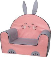 Roze Bubaba Kinderfauteuil - Peuterstoeltje - Kinderzetel Bunny