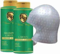 COMBO!Robson Peluquero Home Care groen 2x300ml KIT & Blondeermuts ORIGINAL