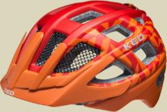 KED Kailu Kinder/Jugendliche Fahrradhelm Kopfumfang S 49-53 cm red orange matt